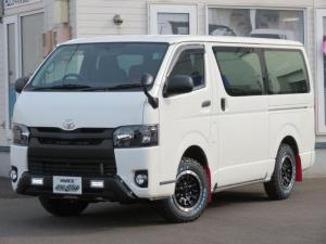 トヨタ ハイエースバン ロングDX 5ドア 3.0Lディーゼルターボ4WD オフロードパッケージ