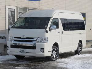 トヨタ ハイエースコミューター コミュータGLディーゼル4WD1ナンバー 2.5D-T GL 4WD 1NO 6人乗り 4型LEDフェイス寒冷地