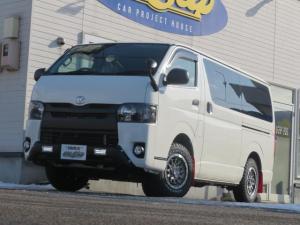トヨタ ハイエースバン ロングDX 4ドア3.0ディーゼルオフロード パッケージ4WD9人