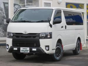 トヨタ ハイエースバン ロングDX 3.0D-T 4WD 5ドア寒冷地仕様 リアヒーター・リアクーラー付き 管109