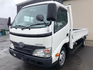 トヨタ ダイナトラック 2t標準ロング平ボデー 荷台塗装済み