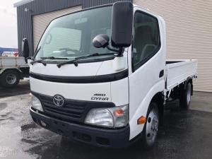トヨタ ダイナトラック 2t積ショート平ボディー 4WD 荷台塗装済