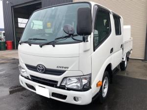トヨタ ダイナトラック 750Kg積 ロングWキャブ5速MT4WD新明和パワーゲート