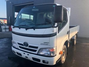 トヨタ ダイナトラック 1.35t積ロング平ボディー 4WD 5MT
