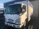 いすゞ/エルフトラック 2t積 ロング サイドステップ付パネルバン 4WD