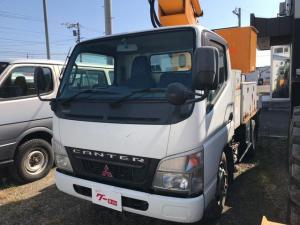 三菱ふそう キャンター 4WD トラック AC MT 3名乗り 高所作業車 PW