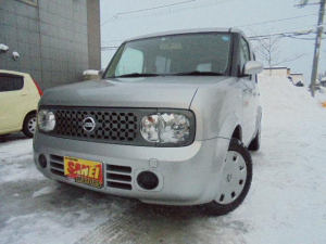i日産 キューブ 14S FOUR 4WD