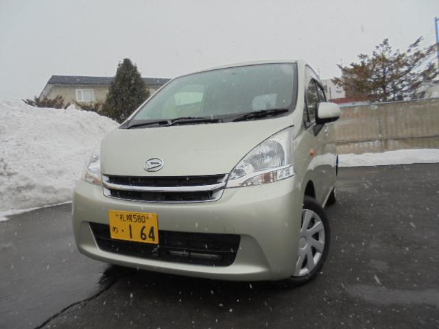 4WD・CVT・アイドリングストップ・キーレス・ 純正CD・冬タイヤ(W)積込・Hライトレベライザー