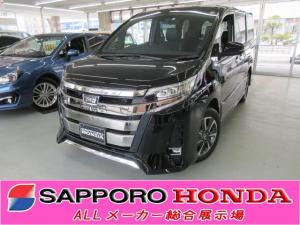 トヨタ ノア Si ダブルバイビーII 4WD 8人 純正ナビ 寒冷地