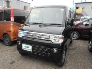 三菱 ミニキャブバン ブラボー ターボ4WD ナビ フルセグTV