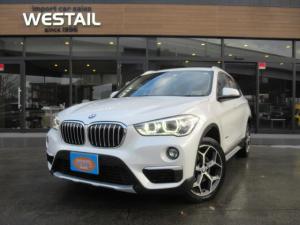 BMW X1 xDrive 18d 1オーナー 4WD ディーゼル 冬タイヤ インテリジェントセーフティ HDDナビ アイドリングストップ ハーフレザーシート Bカメラ Dエアコン コンフォートアクセス オートマチックテールゲート