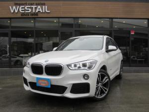 BMW X1 xDrive 18d Mスポーツ 1オーナー 4WD ディーゼル 冬タイヤ アドバンスアクティブセーフティPKG アップグレードPKG コンフォートPKG 純正19インチアルミホイール シートヒータ BTオーディオ HUD Aクルコン