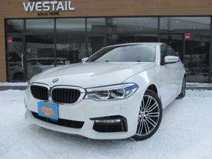 BMW 5シリーズ 540i xDrive Mスポーツ ワンオーナー 4WD イノベーションPKG コンフォートPKG ヘッドアップディスプレイ インテリジェントセーフティ アダプティブLED 革シート シートヒーター ベンチレーション サンルーフ