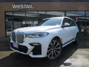 BMW X7 xDrive 35d Mスポーツ 1オーナー Mスポ ウエルネスPKG 22インチアルミ インテグレイトアクティブステアリング エグゼクティブドライブプロフェッショナル 6コンフォートシート インテリセーフティ パノラマサンルーフ