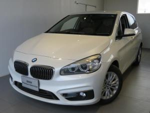 BMW 2シリーズ 218d xDriveアクティブツアラーラグジュアリ 認定中古車 2年保証 ワンオーナー コンフォートパッケージ 電動リアゲート スライディングリヤシート アドバンスドアクティブセーフティパッケージ