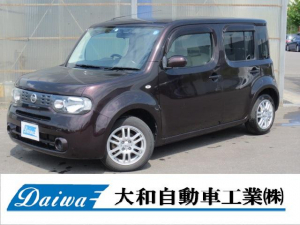 日産 キューブ 15X FOUR Mセレクション  売切車価格変更済