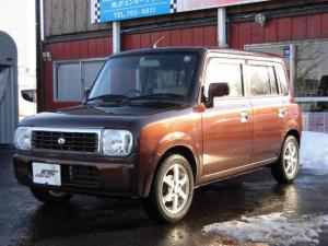 スズキ アルトラパン G エディション 4WD DVDナビ ワンセグ キーレスエントリー ベンチシート コラムAT 禁煙車