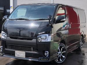トヨタ ハイエースバン ロングスーパーGL 4WD デモカー ナビ TV Bカメラ