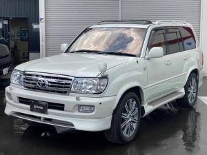 トヨタ ランドクルーザー100 VXリミテッド Gセレクション 4WD SR レザーシート