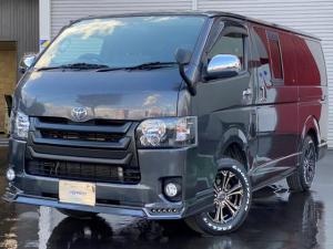 トヨタ ハイエースバン ロングスーパーGL カスタム 4型フェイス ナビ TV Bカメラ Rヒーター Rエアコン 本州仕入れ