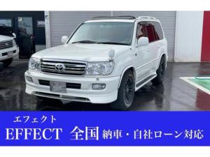 トヨタ ランドクルーザー100 VXリミテッド Gセレクション バン4.2DT VX-LTD Gセレ 4WD Bカメラ フルセグTV 後席モニター