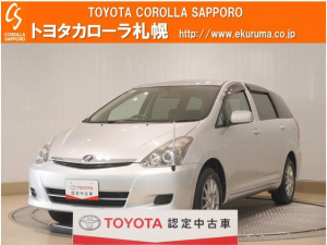 トヨタ ウィッシュ Xリミテッド 4WD キーレス・HIDライト付