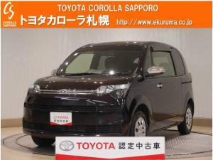 トヨタ スペイド F クイーン 4WD デモカーUP メモリーナビ・バックモニター付