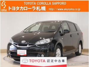トヨタ ウィッシュ 1.8S 4WD フルエアロ・HIDヘッドライト付