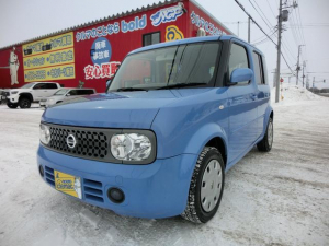i日産 キューブ 14S FOUR プラスナビHDD 4WD ETC