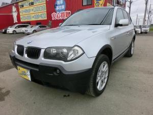 BMW X3 2.5i 4WD ナビ バックカメラ ETC