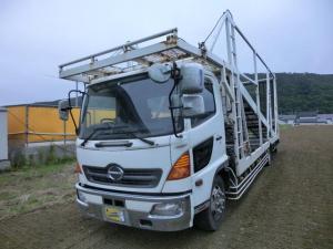 日野 レンジャー 4台積 積載車