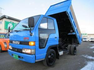 いすゞ エルフトラック 4.3Lデイーゼル 土砂禁ダンプ