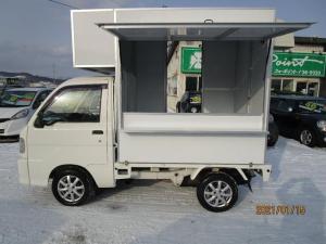 ダイハツ ハイゼットトラック パネルバン 4WD キッチンカー仕様 換気扇 外部コンセント