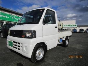 三菱 ミニキャブトラック Vタイプ 4WD パワステ アオリガード 荷台ライト
