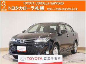 トヨタ カローラアクシオ 1.5G ダブルバイビー 4WD 1オーナー車・トヨタセーフティセンス・エンジンスターター・フルエアロ・LEDヘッドライト付