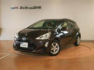 トヨタ アクア S SDナビ付ワンオーナ車