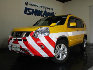 日産 エクストレイル 20GT S パトロールカー 4WD クリーンディーゼル パトランプ取付可 インテリキー HID オートエアコン MTモード付AT CD
