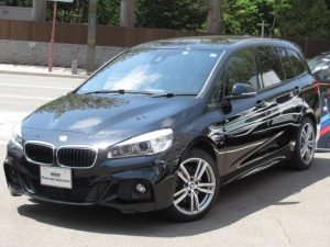 BMW 2シリーズ 218iグランツアラー Mスポーツ 7人乗り 電動リヤゲート