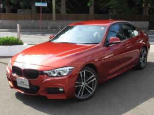 BMW 3シリーズ 318i Mスポーツ エディションシャドー フロントシートヒーティング 電動フロントシートメモリー機能付 ブレーキ機能付クルーズコントロール レーンチェンジワーニング USBオーディオインターフェイスハンズフリーテレフォンシステム レインセンサ