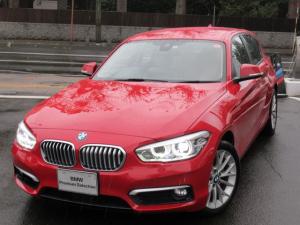 BMW 1シリーズ 118i ファッショニスタ ホワイトアクリルガラストリムマットオキサイドシルバーハイライト アクティブクルーズコントロールストップゴーファンクション USBオーディオインターフェイスハンズフリーテレフォンシステム レインセンサー