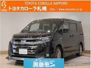 トヨタ ノア ハイブリッドSi FF デモカー・トヨタセーフティセンス付