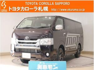 トヨタ ハイエースバン MRトランスポーターIロング4WD メモリーナビ付