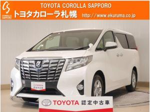 トヨタ アルファード 2.5X 4WD メモリーナビ・バックモニター付