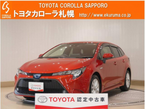 トヨタ カローラツーリング ハイブリッド S 4WD デモカー・トヨタセーフティセンス付