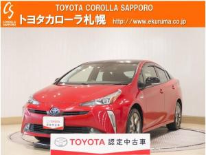 トヨタ プリウス Sツーリングセレクション 4WD デモカーUP・TSS付
