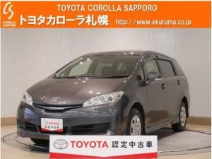 トヨタ ウィッシュ 1.8X 4WD メモリーナビ・バックモニター付