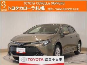 トヨタ カローラスポーツ G X 4WD デモカー・トヨタセーフティセンス付