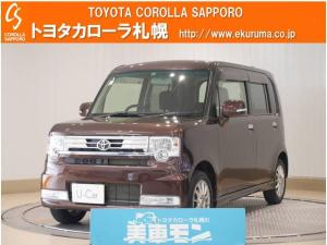 トヨタ ピクシススペース カスタム G 4WD 1オーナー車・メモリーナビ付