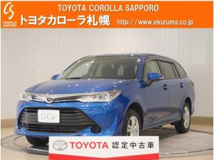 トヨタ カローラフィールダー 1.5X 4WD メモリーナビ・エンジンスターター付