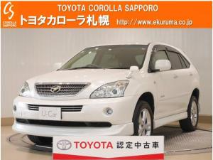 トヨタ ハリアーハイブリッド Lパッケージ 4WD HDDナビ・バックモニター付